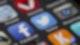 digitale Apps auf dem Homescreen